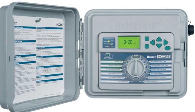 Ovládací jednotka I-CORE. Pro velké nebo náročné aplikace v zavlažování.
