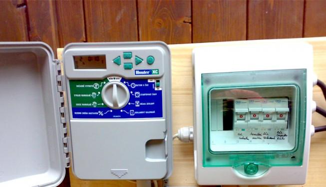 Vodovzdorná verze řídící jednotky XC.
