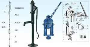 Pístové pumpy Standard II a Lila
