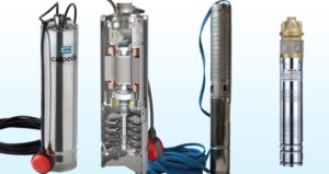 Ponorná vícestupňová čerpadla MXS, TWI, 4 SKM