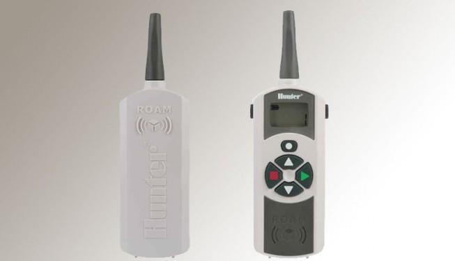Dálkové ovládání ROAM REMOTE - přijímač a vysílač.